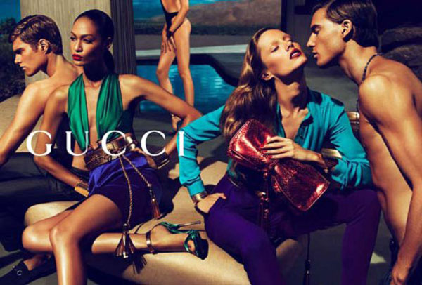 Gucci Spring 2011 Campaign | Karmen Pedaru, Joan Smalls & Hailey Clauson by Mert & Marcus