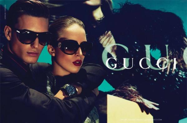 Gucci Cruise 2011 Campaign | Raquel Zimmermann by Mert & Marcus