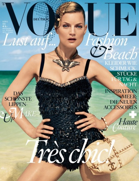 Vogue Germany May 2012 Cover | Guinevere van Seenus by Knoepfel & Indlekofer
