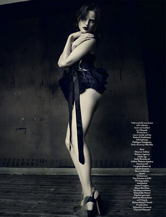 AnOther Spring | Guinevere van Seenus by Paolo Roversi