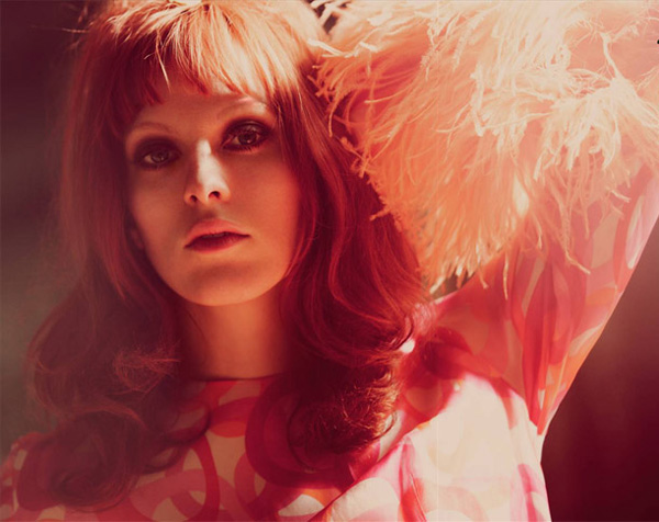 Karen Elson by Guy Aroch in Walk the Line | <em>Foam Magazine</em> July 2010