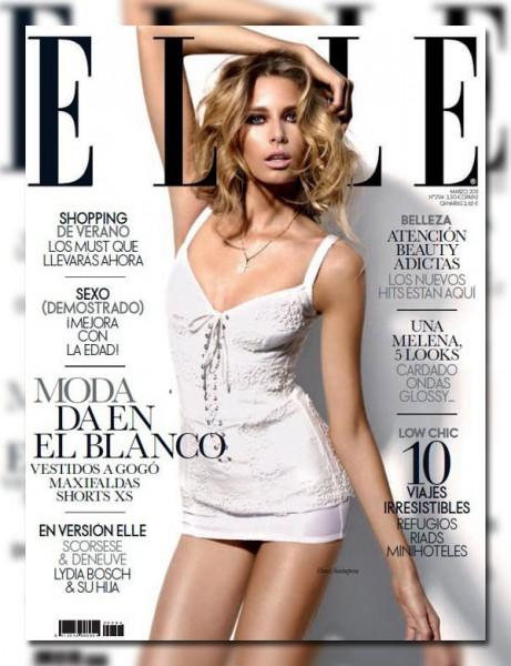 Hana Soukupova for Elle Spain March 2011