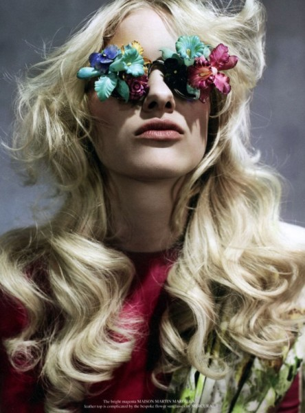 Hannah Holman by Catherine Servel for <em>Grey</em> S/S 2011