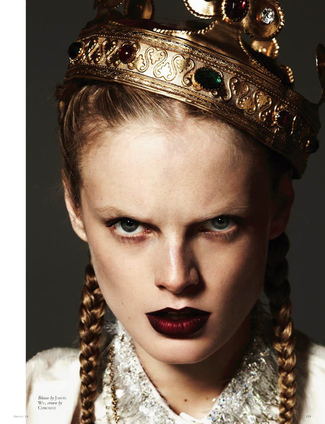 Hanne Gaby Odiele by Michael Schwartz for Black #16