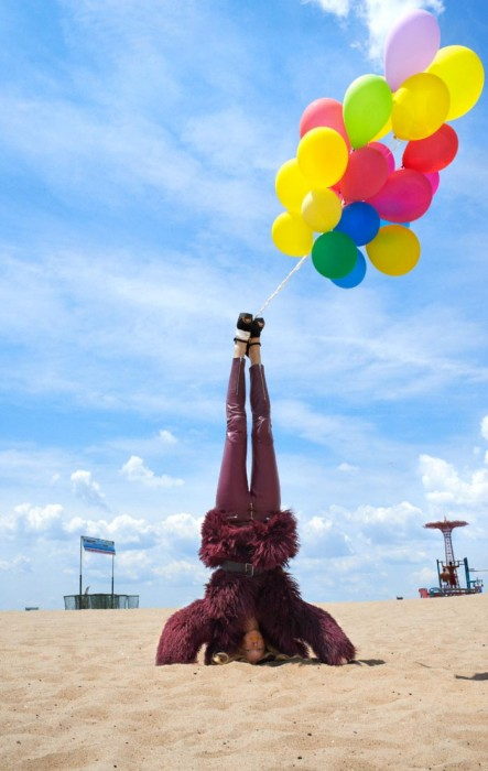 Hartje Andresen Gets Topsy Turvy for Elle Muliarchyk's Dossier Shoot