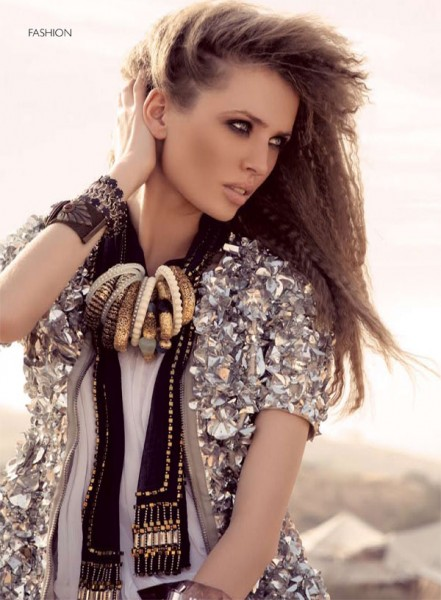 Alexandra B by Melissa Rodwell for <em>Harper's Bazaar Arabia</em> May 2010