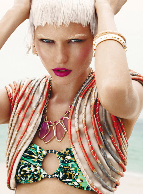 Harper's Bazaar Arabia June 2010 | Masha by Susanne Spiel