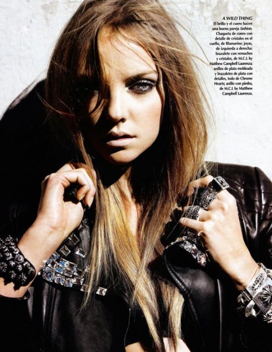 Vogue México   Heather Marks by Cliff Watts