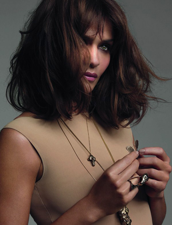 Helena Christensen by Tesh for Elle UK October 2010
