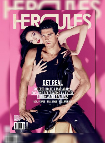 <em>Hercules</em> Fall / Winter 2010 Cover | Mariacarla Boscono by Paola Kudacki