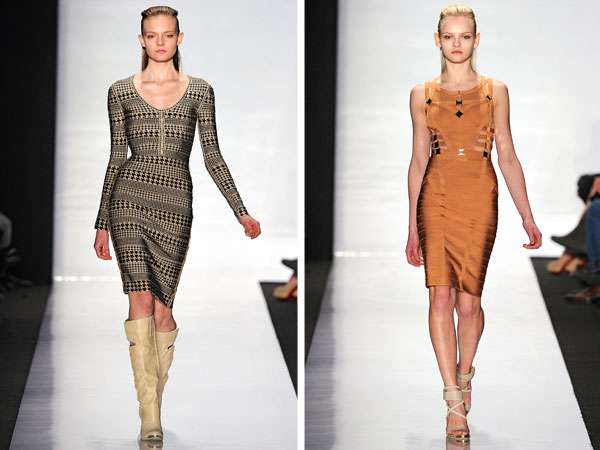 Herve Leger by Max Azria Fall 2011 | New York Fashion Week