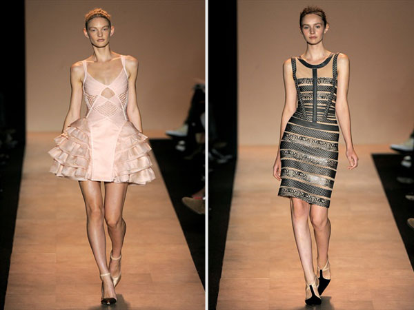 Herve Leger by Max Azria Spring 2011 | New York Fashion Week