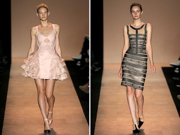 Herve Leger by Max Azria Spring 2011 | New York Fashion Week