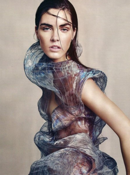 Hilary Rhoda by Paola Kudacki in Goddess Complex | <em>Harper's Bazaar UK</em> July 2010