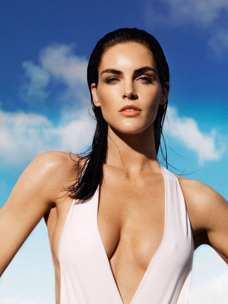 Hilary Rhoda by Nico for Madame le Figaro May 2012