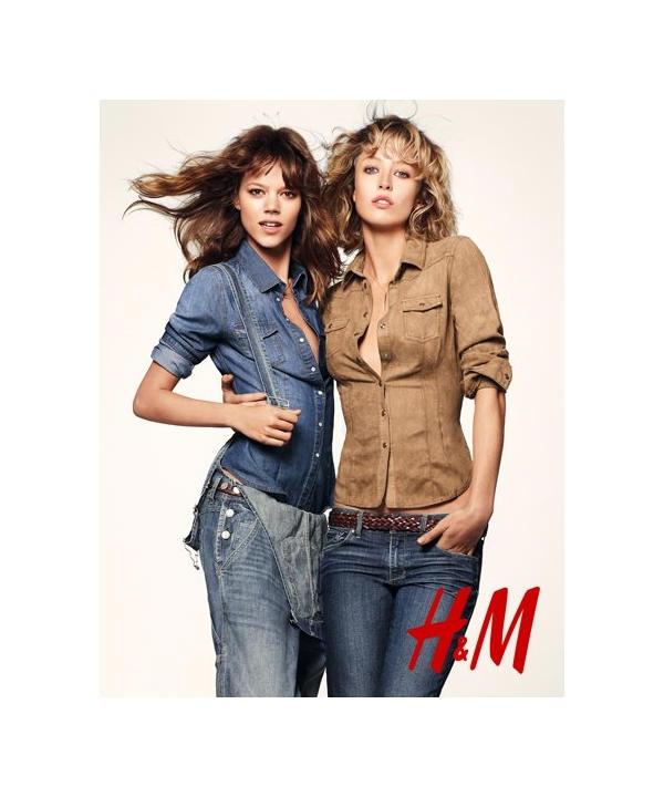 H&M Spring Awakening Campaign   Freja Beha Erichsen, Raquel Zimmermann, Hannah & Tati by Daniel Jackson
