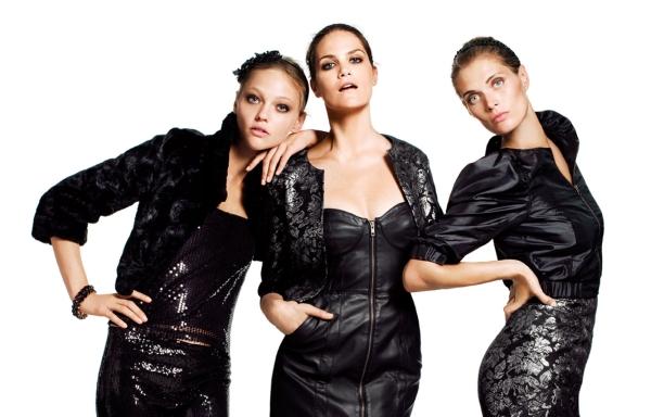 H&M Campaign | Sasha Pivovarova, Missy Rayder & Malgosia