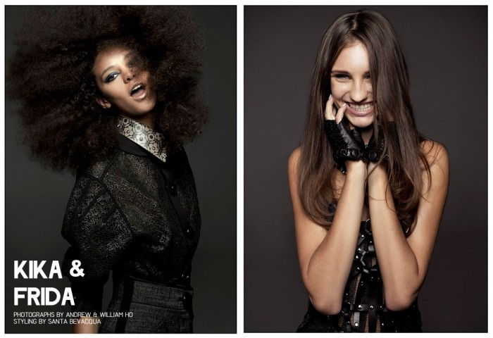 Kika & Frida by Andrew & William Ho for Fashion Gone Rogue