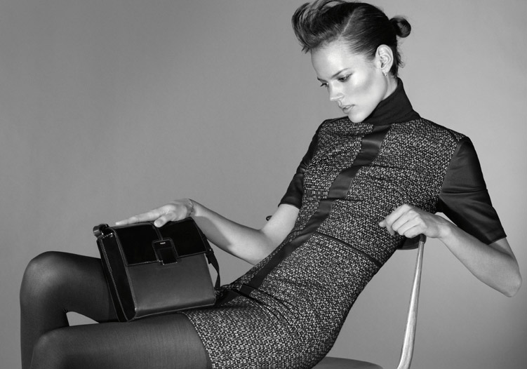 Freja Beha Erichsen is Minimal Glam for Hugo by Hugo Boss' Fall 2012 Campaign