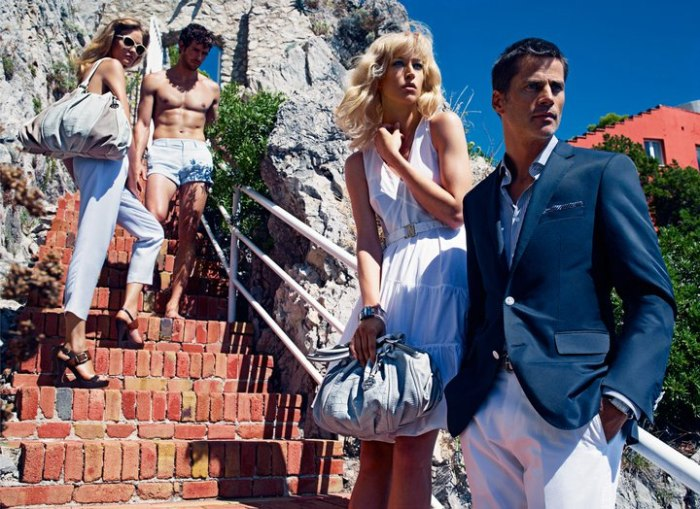 Hugo Boss Spring 2011 Campaign Preview | Raquel Zimmermann by Mario Sorrenti