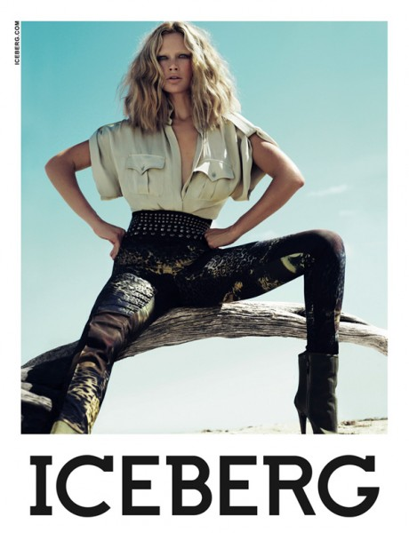 Iceberg Spring 2010 Campaign | Carolyn Murphy by Mert & Marcus