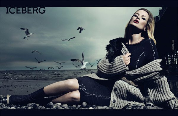Iceberg Fall 2010 Campaign | Carolyn Murphy by Mert & Marcus