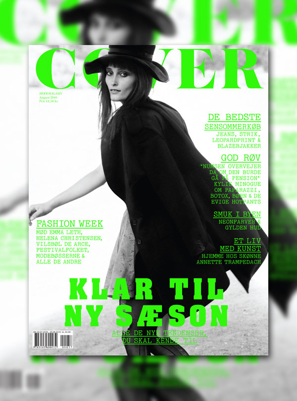 Cover Magazine August 2010 Cover | Iekeliene Stange