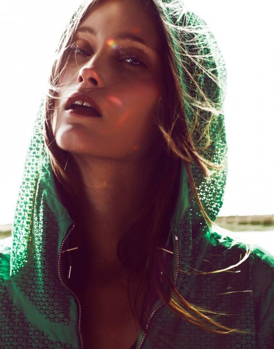 Iekeliene Stange by Emma Tempest for Flair April 2012