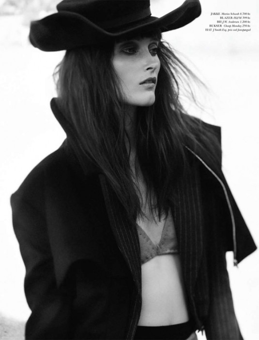 Iekeliene Stange for Cover Magazine August 2010 by Peter Gehrke