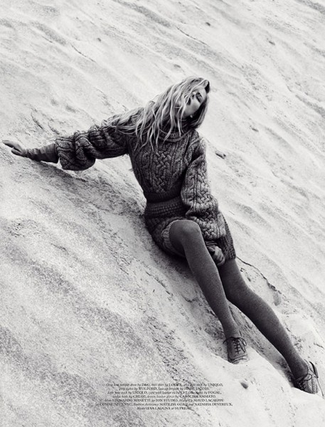 Ieva Laguna by Benny Horne for <em>Wonderland</em> September/October 2010