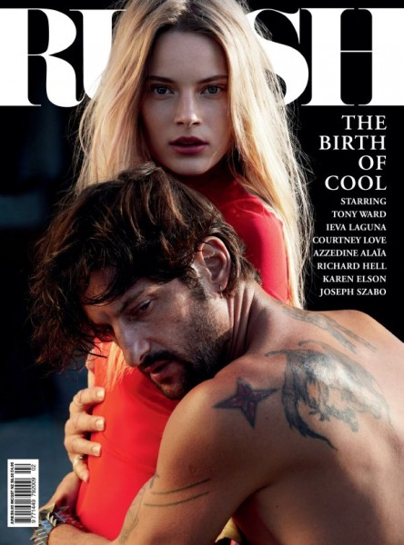 <em>Russh</em> #34 June/July 2010 Cover | Ieva Laguna &#038; Tony Ward by Will Davidson