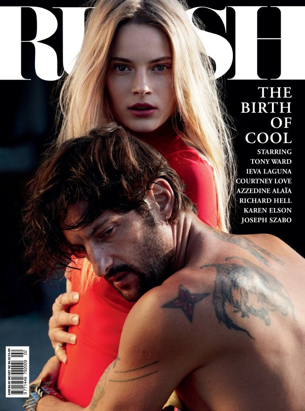 Russh #34 June/July 2010 Cover | Ieva Laguna & Tony Ward by Will Davidson