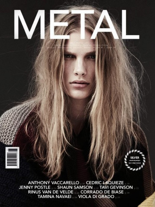 Metal #26 Winter 2011 Cover | Ilse de Boer by Emma Tempest