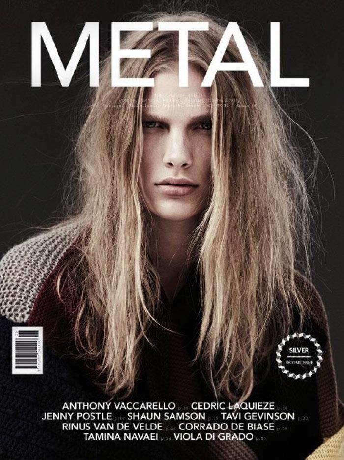 Metal #26 Winter 2011 Cover | Ilse de Boer by Emma Tempest