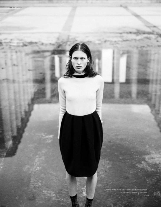 Ilva Heitmann by Markus Pritzi for Sleek Magazine