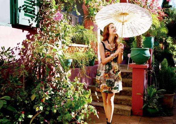 Jill by Jill Stuart Spring 2010 Campaign | Imogen Morris Clarke by Skye Parrott