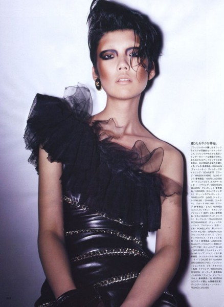 Tao Okamoto by Daniel Jackson for Vogue Nippon November