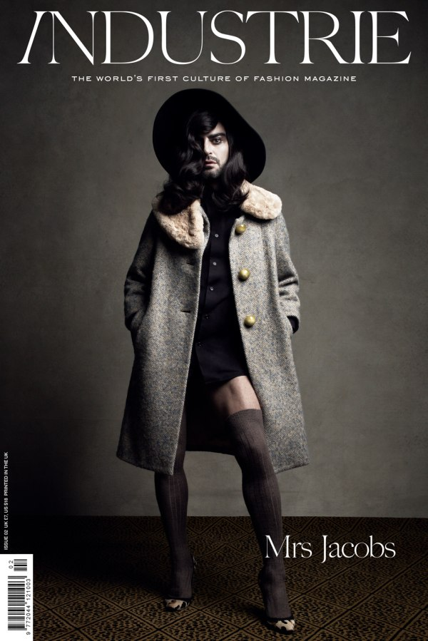 Industrie #2 F/W 2010 Cover   Marc Jacobs by Patrick Demarchelier