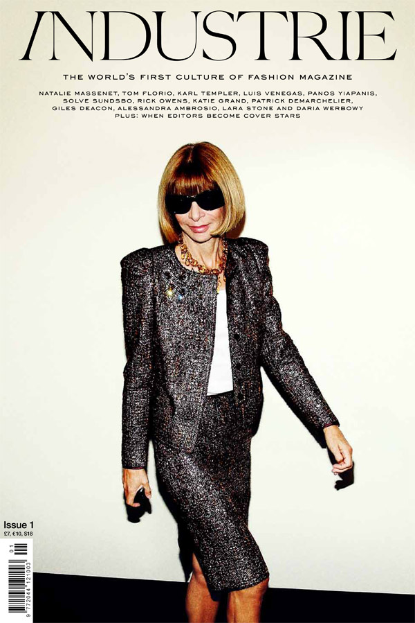 Industrie Issue #1 Cover | Anna Wintour
