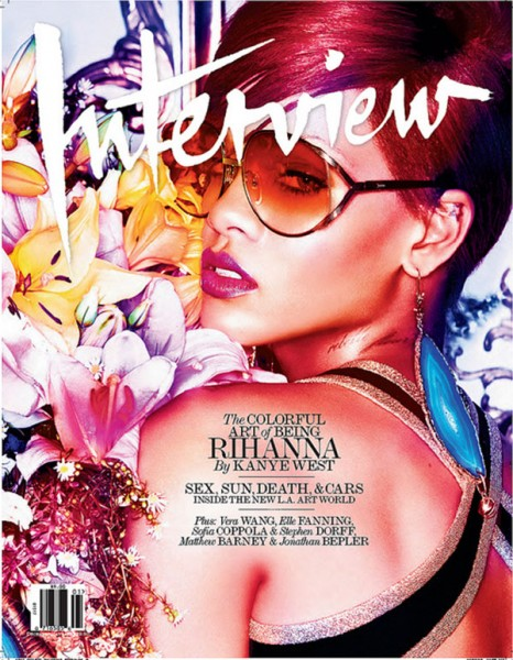 <em>Interview</em> December 2010 Cover | Rihanna by Mikael Jansson