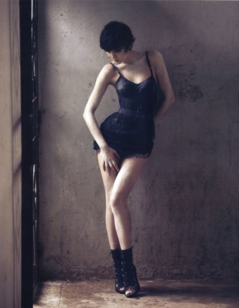Irina Lazareanu by David Bellemére for <em>Marie Claire</em> May 2010