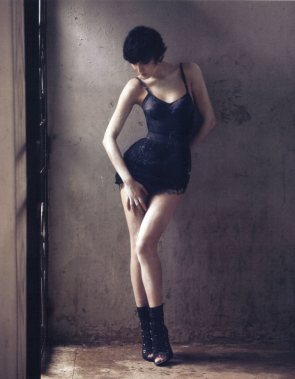 Irina Lazareanu by David Bellemére for Marie Claire May 2010