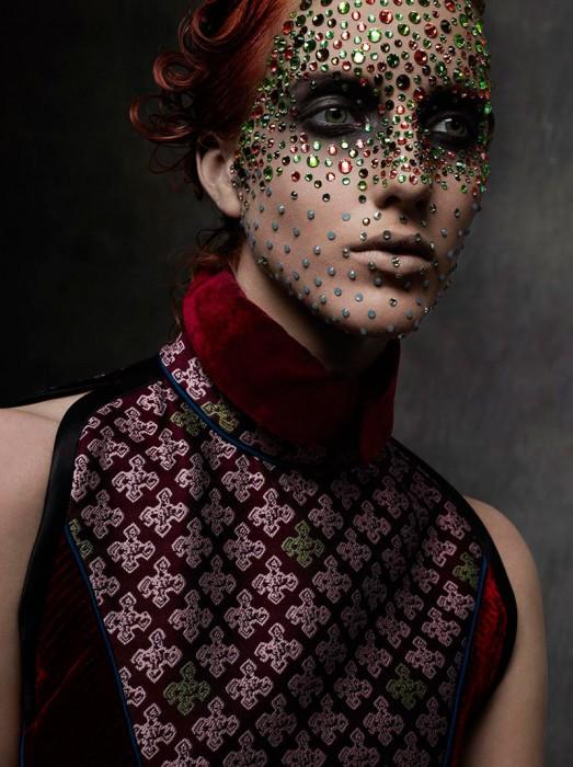 Iris Egbers Gets Bejeweled for Stefano Moro Van Wyk's Tush Shoot