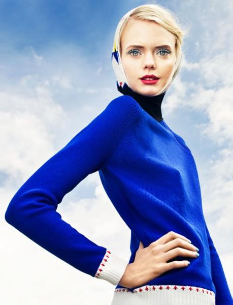 Isa Asklof by Nikolay Biryukov for Elle Ukraine January 2012