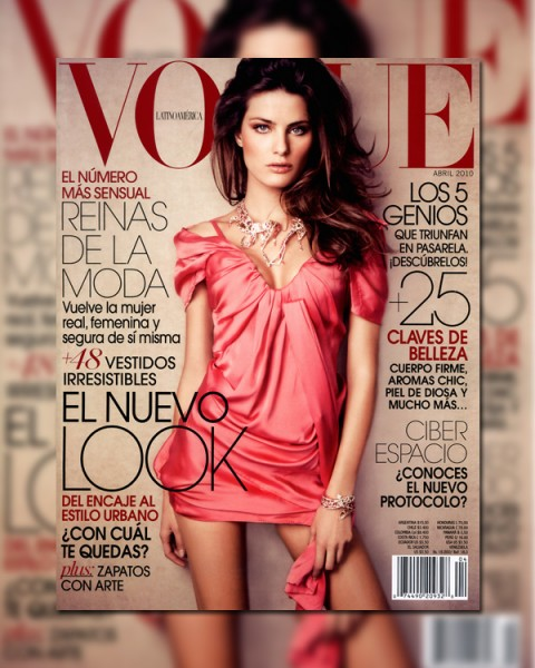 Vogue Mexico April 2010 Cover | Isabeli Fontana by Jacques Dequeker