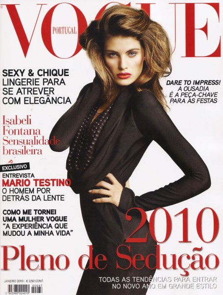Cover | Isabeli Fontana by Marcin Tyszka for Vogue Portugal January