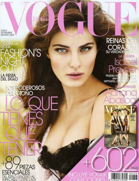 Vogue Spain September 2009 – Isabeli Fontana by David Vasiljevic