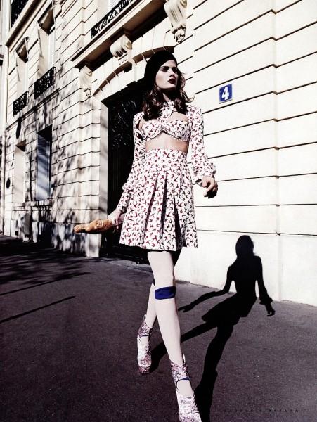 French Chic | Isabeli Fontana by Marcin Tyszka
