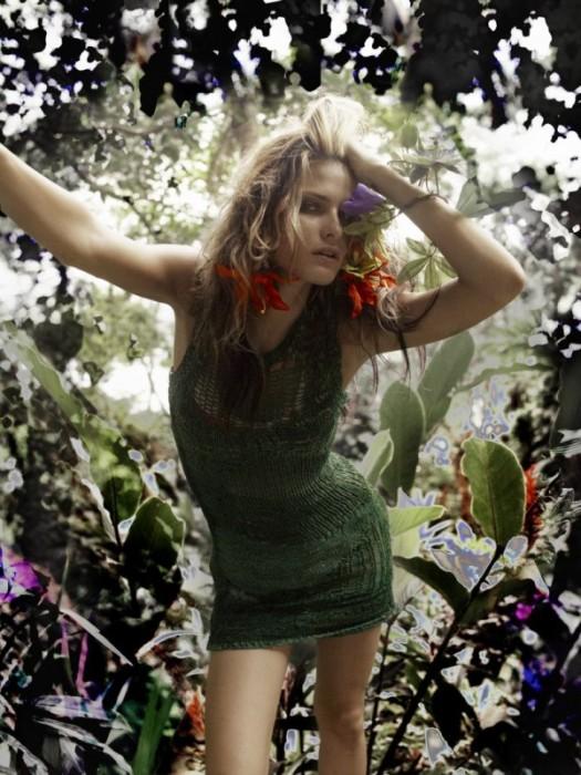 The Eco Warrior | Isabeli Fontana by Richard Bush for i-D