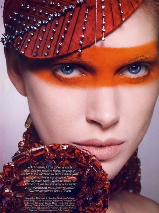 Iselin Steiro by Tyen for Vogue Paris June/July 2010